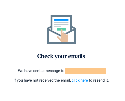 sendinblue ส่งอีเมลยืนยัน
